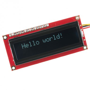 SparkFun Serial Enabled LCD Kit