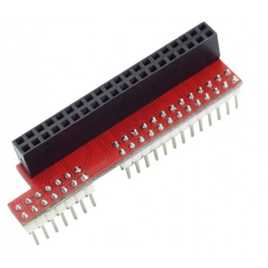 Raspberry Pi B  40pin to 26pin GPIO Board