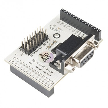 RS232/GPIO Shield for Raspberry Pi