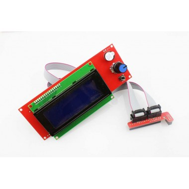 2004 Smart LCD Controller With Adapter For RepRap Ramps 1.4 3D