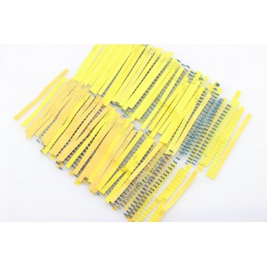 Metal Film Resistor Pack 1% 1/4W