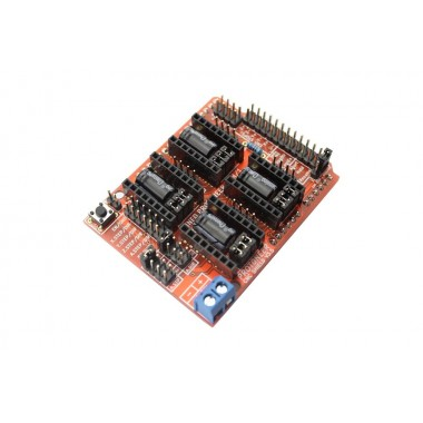 CNC Shield V3.5 for Arduino (GRBL v0.9 compatible with PWM Spind)