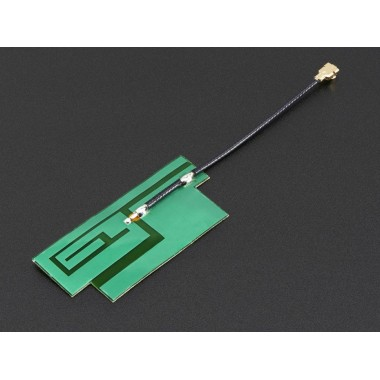 Slim Sticker-type GSM/Cellular Quad-Band Antenna - 3dBi uFL