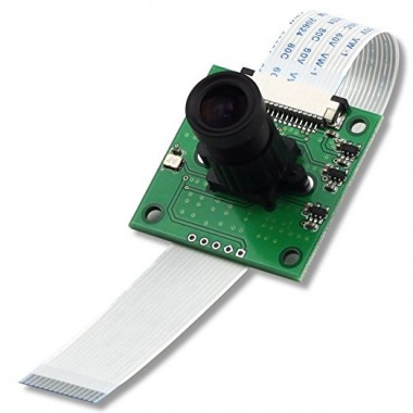 OV5647 Camera Board /w M12x0.5 mount LS-40180 Fisheye Lens for Raspberry Pi
