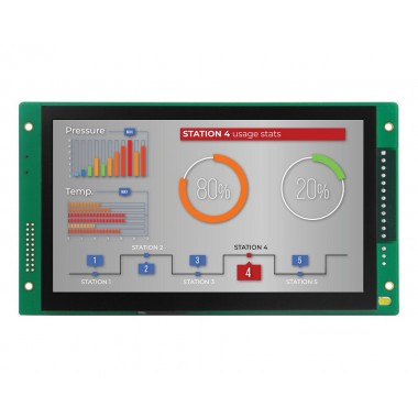 CS-EPC-A8-70HB-C high-quality industrial embedded computer 7-inch LCD