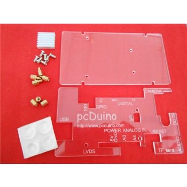 Acrylic Clear Enclosure for pcDuino3 Universal Edition