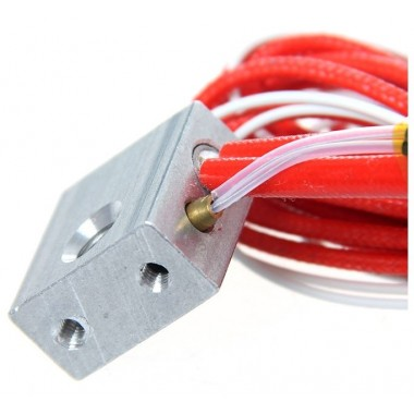 Cartridge Heater and Heater Block M6 for MK7 MK8 Makerbot