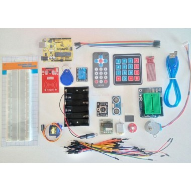 Development Board Kit for Arduino UNO R3 - Multicolored