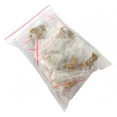 Ceramic Capacitor Bag (25Kinds of 10pcs each - Total 250pcs)