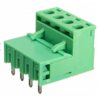 5.08mm Right Angle Screw Terminal block - 4 pin