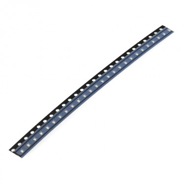 SMD LED - Red 0603 (strip of 25)