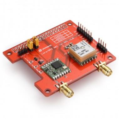 Lora/GPS HAT for Raspberry Pi