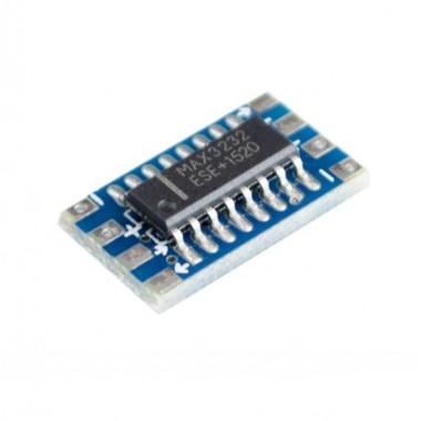 MCU mini RS232 serial converter board module