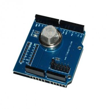 MQ2 Smoke Detector Shield for Arduino