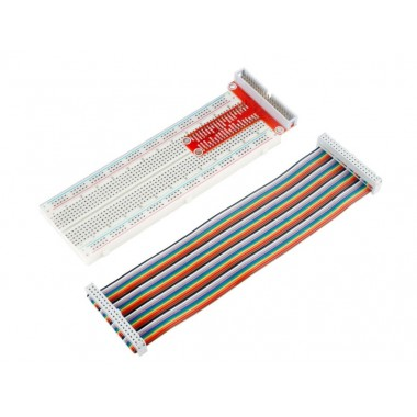 T Type GPIO Extension Board   40 Pins Rainbow Cable for Raspberry Pi 3
