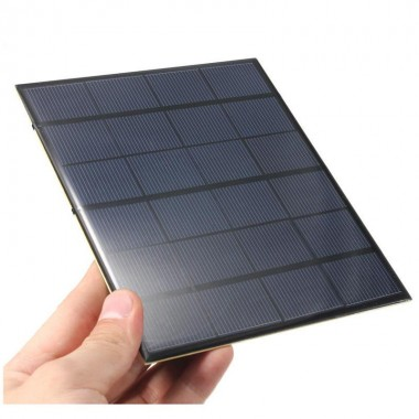 3.5W 6V Monocrystalline Silicon Epoxy Mini Solar Panel