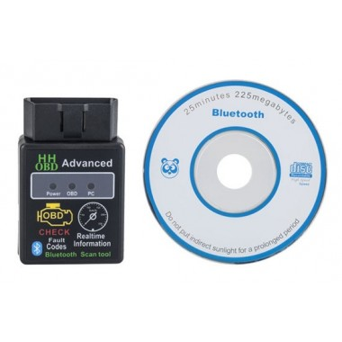 Bluetooth ELM327 Interface OBDII OBD2 Diagnostic Auto Car Scanner Scan tool