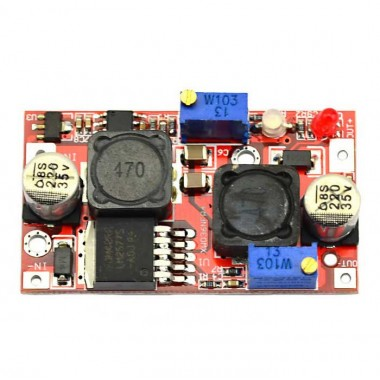 DC-DC 4-35V to 1.25-25V Automatic Buck Boost Converter Constant