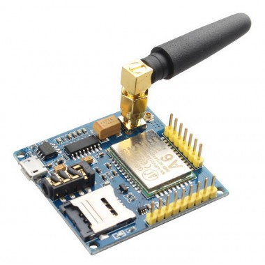 A6 GSM/GPRS Dev Board Module With Antenna