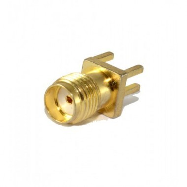 SMA Female with PCB Mount 11mm 50 OHM RF Connector