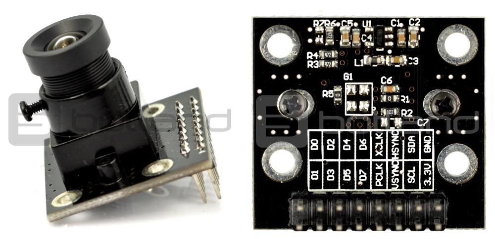 OpenHacks | Open Source Hardware | Productos | MT9V111 640x480