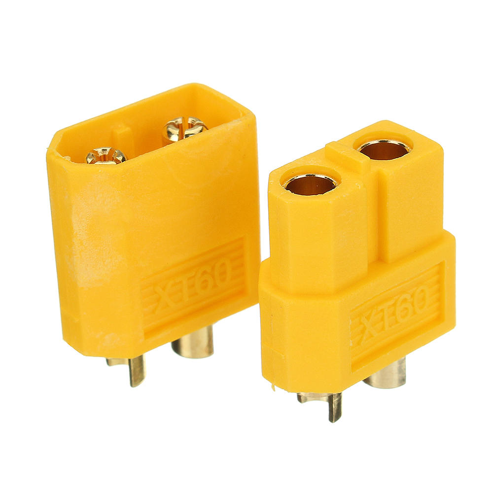 XT60 Female To Male T-Plug Male Connector Connector for RC Car Battery Charger