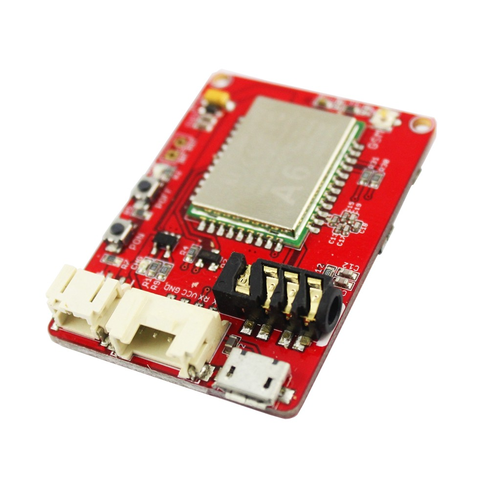 OpenHacks | Open Source Hardware | Productos | Crowtail A6 GPRS GSM