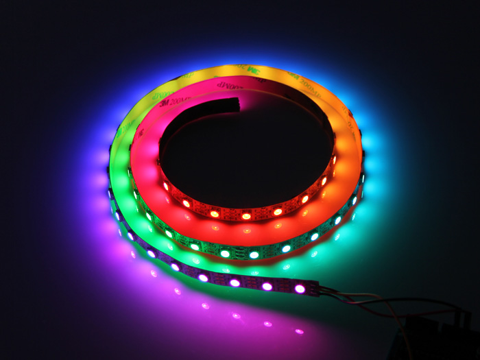 openhacks open source hardware productos digital rgb led flexi strip 30 led 1 meter. Black Bedroom Furniture Sets. Home Design Ideas