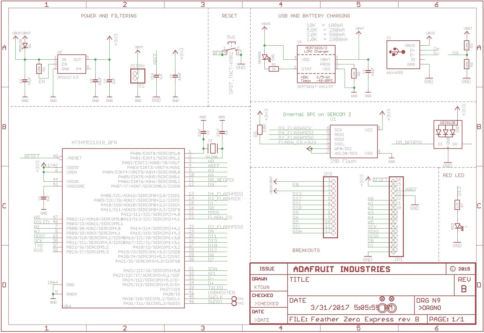 Openhacks Open Source Hardware Productos Adafruit Feather M0 Circuitos Miscelaneos Archivos