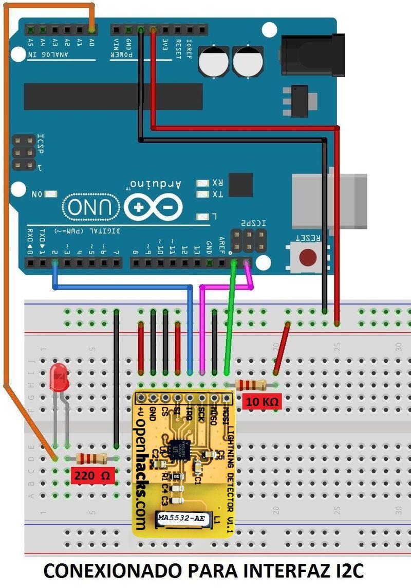 Openhacks Open Source Hardware Productos Detector De Rayos V11 Circuitos Miscelaneos Archivos
