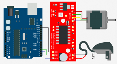 Openhacks open source hardware productos easydriver for Easy stepper motor controller