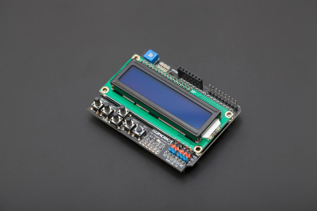 Arduino Library for DF Robot 16x2 LCD Keypad Shield