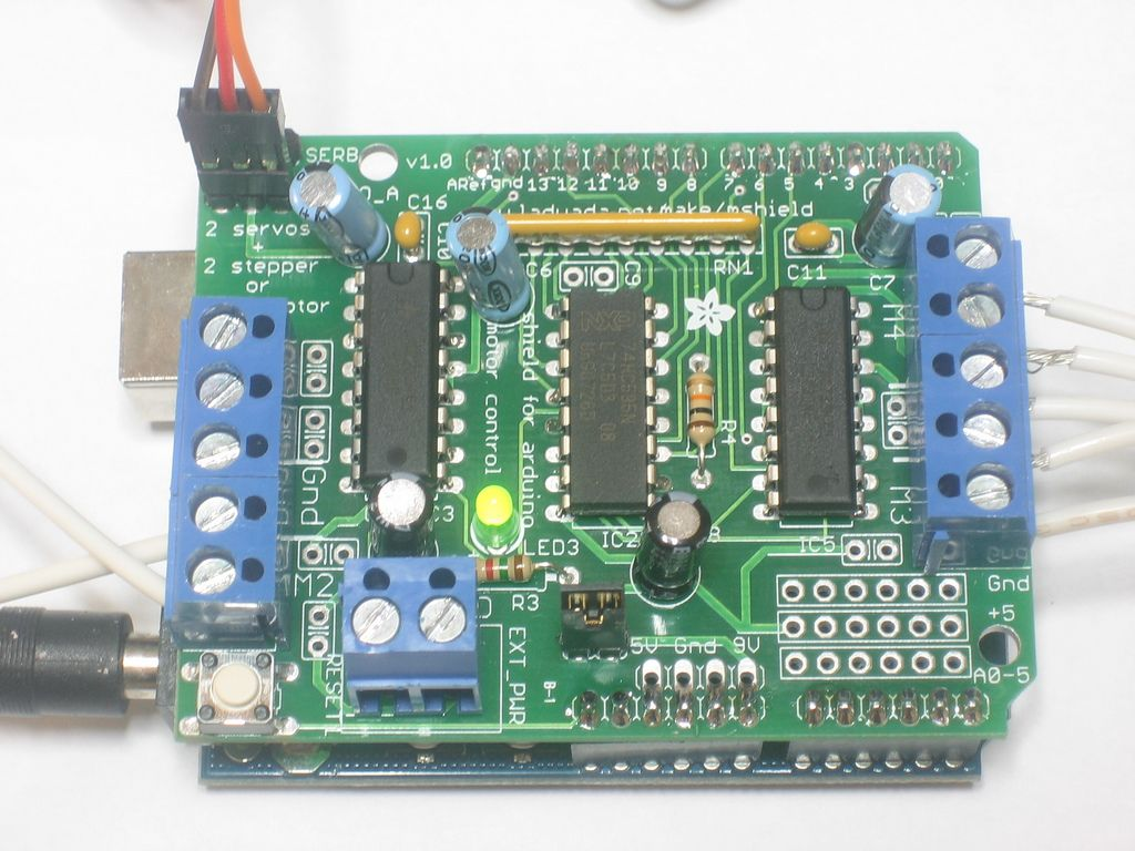 Openhacks Open Source Hardware Productos Kit Motor
