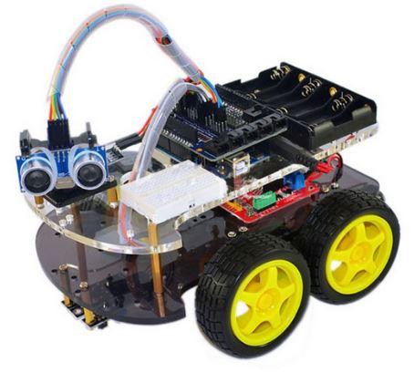 Openhacks open source hardware productos 4wd robot car kit 4wd robot car kit malvernweather Choice Image
