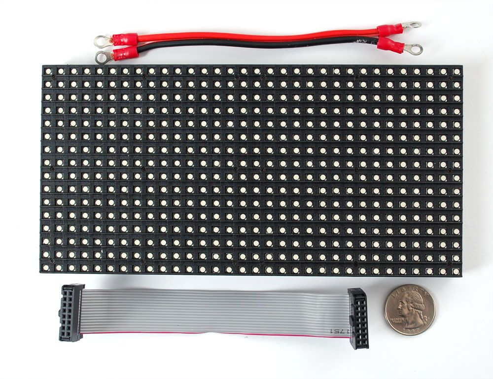 openhacks open source hardware productos 16x32 rgb led matrix panel. Black Bedroom Furniture Sets. Home Design Ideas